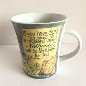 If you Have Faith Coffee Cup Mug Beth Yarbrough